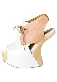 SECRET - Sandalen met hoge hak - Beige
