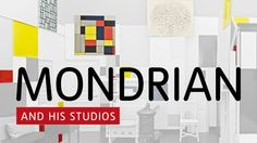 Mondrian and his Studios, is a new exhibition opening 6 June at Tate Liverpool exploring the artist's relationship with architecture and urbanism