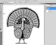 How to Color a Stamped Digital Brush