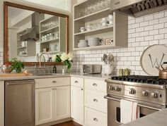 Square Mirror Decorating Tips for Kitchen design