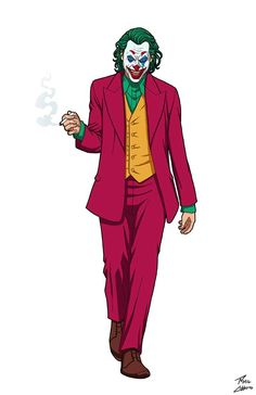 """Joker"" (Joaquin Phoenix) from Todd Phillips' Joker Character belongs to DC Comics. This one I just had to do because I loved the movie so much! Joker Images, Joker Pics, Joker Art, Joker Joker, Joker Comic, Joker Sketch, Joker Drawings, Harley Y Joker, Harley Quinn"