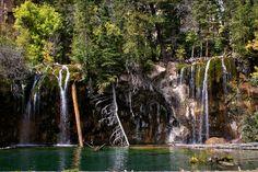 Hanging Lake, in Colorado. Best Hike Ever~!