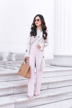 Business Casual in Pretty Pastels
