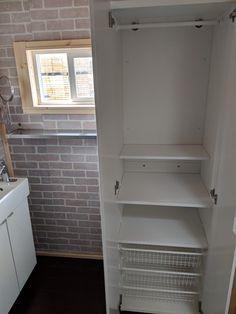 Tiny House, Building A House, Bathtub, Storage, Furniture, Home Decor, Standing Bath, Homemade Home Decor, Bath Tub