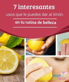 7 interesantes usos que le puedes dar al limón en tu rutina de belleza  El limón es uno de los frutos cítricos más consumidos en todo el mundo debido al particular sabor que le aporta a las bebidas y los platos.