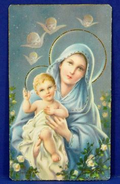 Богородица с младенцнм!