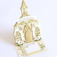 Anna Griffin® Church Easel Card Dies Create beautiful easel cards for weddings, baptisms and more with this set of dies. It's a perfect way to send inspiration and faith. What You Get 12 individual dies Ivory Damask magnet sheet Instructions Anna Griffin Inc, Anna Griffin Cards, Architecture Tattoo, Art And Architecture, Scrapbook Page Layouts, Scrapbook Pages, Scrapbooking, Fine Point Pens, Spinner Card