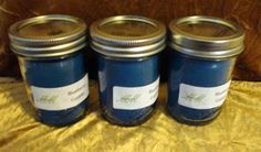 Blueberry Cobbler Candle  8 oz by CraftsnCandles on Etsy, $7.00