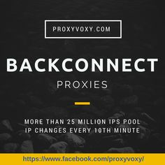 Cheap Backconnect proxy service with more than 25 Million IPs with more than 100 data centers. Fast and reliable proxies.