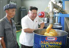 Kim Jong-Un Loves Cheese So Much