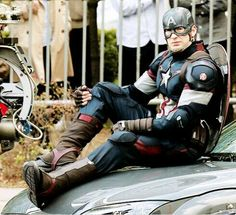 Captain America age of Ultron new Suit