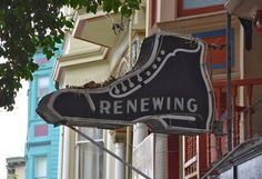 We picked up a Twitter rumor that Mike's Shoe Repair might be closing, what with a For Rent sign in the window. We stopped by, and while the there was no ...