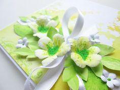 Gabi´s Creations: {WEDDINGS} Limette & Citron Cardmaking, Weddings, Tableware, Ethnic Recipes, Cards, Diy, Food, Lemon, Dinnerware