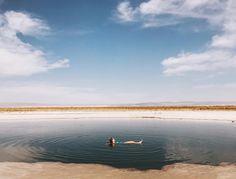 Laguna Cejar - Deserto do Atacama, Chile