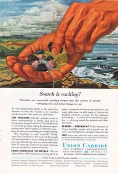 Vintage ad for science #vintage ads #advertising