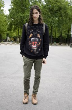 MILES MCMILLAN IN GIVENCHY ROTTWEILER, PARIS