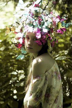 Petite Papillon | Daniela Majic inspired Sonar Graham / Summer Night 2 http://fqoto.com/ss2014-073-summer-nights-2.html