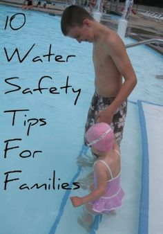 Great safety tips for taking your family to the pool or beach!