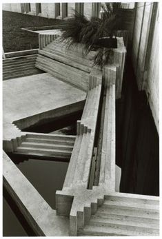 CARLO SCARPA, Tomba Brion Cemetery, San Vito d'Altivole, Italy 1969-78. Photography by James Butler. / Occhiaperti