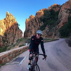 #Cycling in #Corsica #France. #Piana #roadbike #amazingview #cyclingtrip #cyclingtour #cyclingphotos  #cyclinginthesun #コルシカ島 #フランス  #サイクリング #ヒルクライム#VeloTopoBikeTours