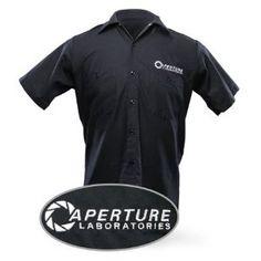 Aperture Laboratories Work Shirt (Apparel) http://www.amazon.com/dp/B003VADQ0M/?tag=wwwmoynulinfo-20 B003VADQ0M