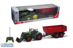 RC Traktor mit Anhänger QY8301B Nutzfahrzeug