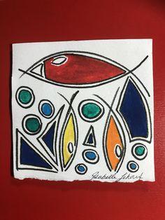St Hubert, St Pierre, Art, Handmade Gifts, Lanyard Necklace, Goldfish, Fantasy, Boucle D'oreille, Drawings