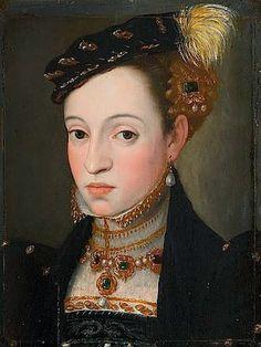 Archduchess Magdalena of Austria (also known as Archduchess Magdalena (1532-1590), Daughter of Ferdinand I) Giuseppe Arcimboldo 1563