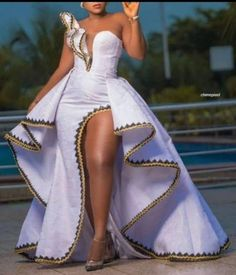 African Party Dresses, African Wedding Attire, Latest African Fashion Dresses, African Print Dresses, African Print Fashion, African Attire, African Wear, African Dress, African Bridal Dress
