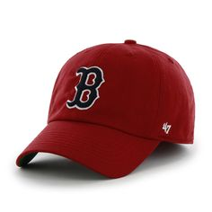 2c7c88bde4e ... baserunner 47 clean up 47 brand 47 brands strap back back belt cap  correspondence  boston red sox 47 brand red franchise fitted hat