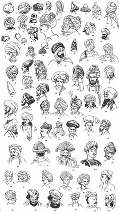 History of male turbans - Тюрбан — Википедия