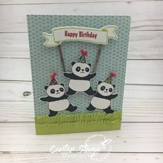 Party Panda Center Stage Stamping