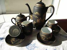 Lithophane tea set - vintage Tea Culture, Tea Sets Vintage, Vintage Vibes, Downton Abbey, Tea Cup Saucer, Fine China, High Tea, Chinese Style, Teacups