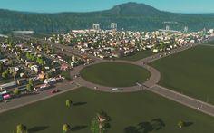 Cities: Skylines — After Dark #2   Первое кольцо