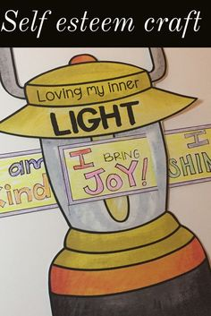 "This elementary school counseling classroom guidance lesson give students a chance to explore the things that give them ""inner light""! Use a flashlight demonstration to show students how having positive self esteem helps us even when things around us feel dark. Students create a lantern craft to highlight the things that give them ""inner light"" and then complete a closing activity to celebrate everyone's inner light!"