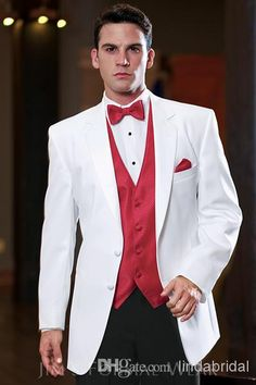 Image result for tux red tie