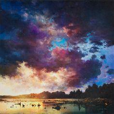 Entre peinture et photographie – Les paysages fascinants de Stev'nn Hall | Ufunk.net
