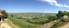 Panoramic View from Corte Pavone, Montalcino