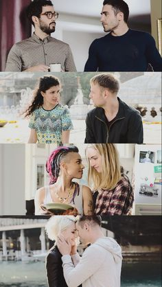 I just hate the lables. And So I loved this webseries. And my favourite blondes 'What's going on' song is also portrayed well. Tv Series To Watch, Netflix Series, Series Movies, Movies And Tv Shows, Web Series, Sense 8 Netflix, Lito Rodriguez, Lgbt, Live Action Film