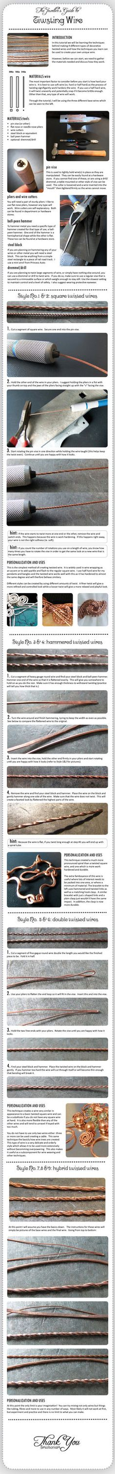 The Jewellers Guide to Twisting Wire by ~pixie-trick on deviantART