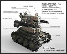 Riot Control Drone by KaranaK on DeviantArt Military Robot, Military Gear, Military Weapons, Military Equipment, Army Vehicles, Armored Vehicles, Drones, Combat Robot, Battle Tank