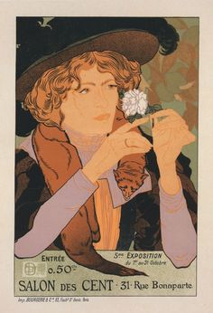 French Poster / c. 1896-1900 / NYPL