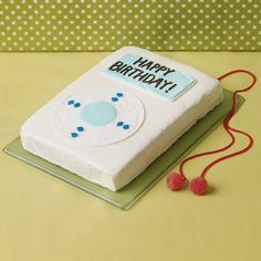 How to make a Rocking iCake or a Disco Ball Cake. How to make a Denim MP3 player holder. Plans to make a Disco Dance Party.