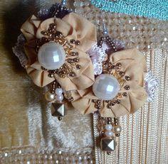 ORECCHINI earrings pendientes Ohrringe bohemian  fiore PERLE boucles d oreilles
