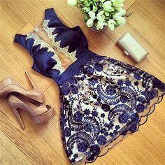 White and Black, Short, V Neck, Lace, Casual Mini Dress $85  ᴏʀᴅᴇʀ ɴᴏᴡ…
