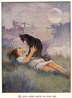 """blueruins: He Had Come Back To Find Me. By Honor C. Appleton . From the story """"Tall Ag-rip-pa."""""""