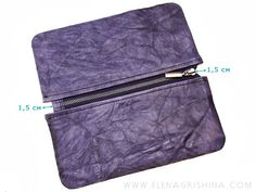"Мастер-класс ""Тройной клатч из кожи"" - Мастер-класс — LiveJournal Rubrics, Cool Stuff, Pattern, Blog, Leather, Inspiration, Fashion, Blue Prints, Totes"