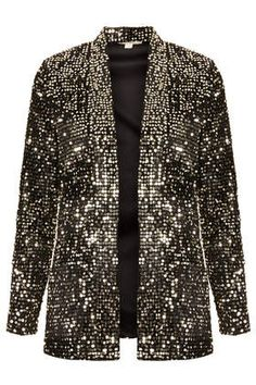 **Velvet and Sequin Blazer by Goldie - Jackets & Coats  - Clothing