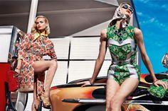 Prada or car models?