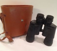 Kofu Coated Optics Binoculars, 7X35 Field 6.5, Leather Case, Number 281889, Vintage, Made In Japan, Collectible, Field Glasses,Opera Glasses by Sunshineoftreasures on Etsy